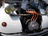 2CV met elektromotor. Bovenop de aansturingsunit.