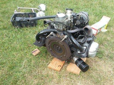 2cvmotor-defecte-koppeling-op-2cvkitcarclub-vakantie