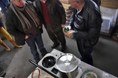 Ledenvergadering en Koude Neuzen rit. Piet Reniers 13-01-2013