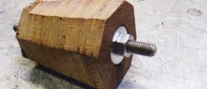houten versnellingspookknop