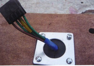 waterdichte en veilige kabeldoorvoering
