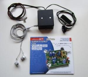 TomTom GPS stemversterker bouwpakket voor kitcar rijder