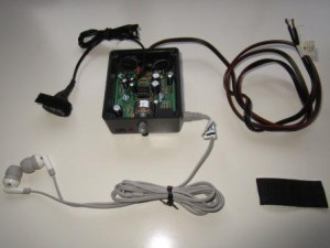 TomTom GPS stemversterker bouwpakket gereed voor kitcar rijder