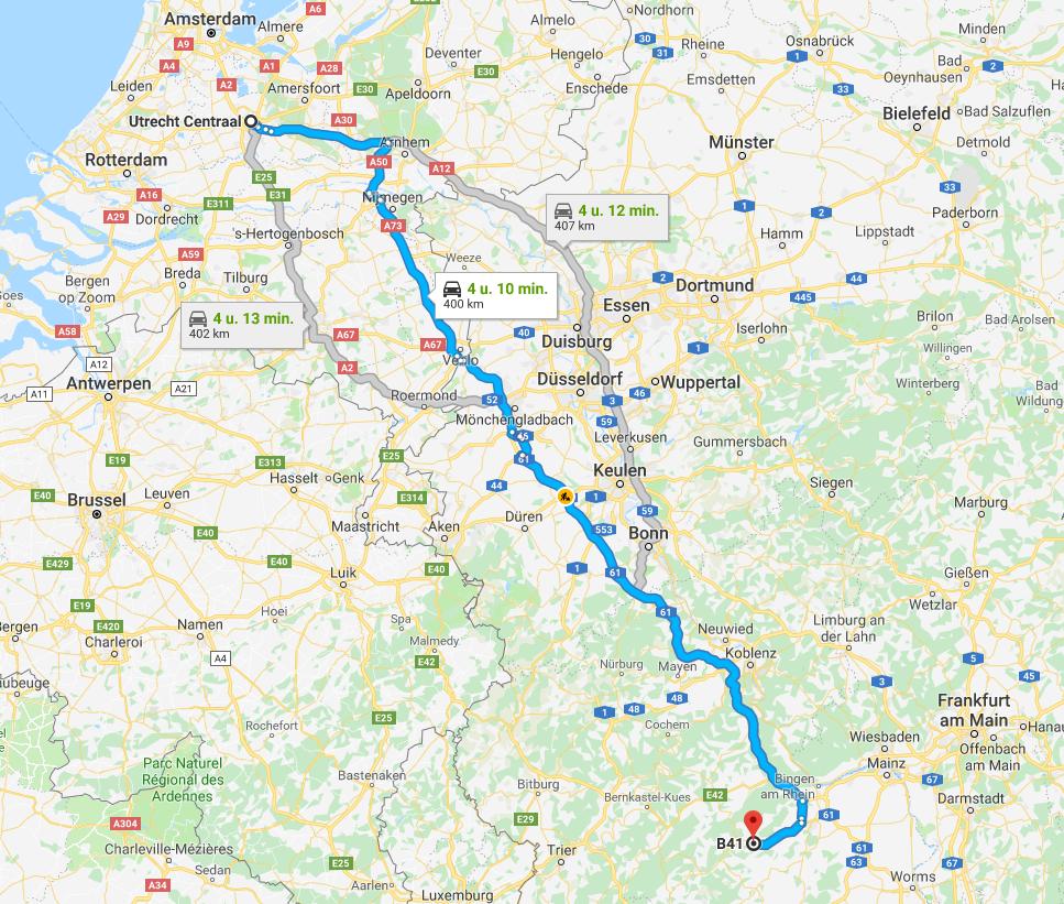 13-20 Juli - Kitcar Vakantie  2cvkitcarclubvakantie-route-2019