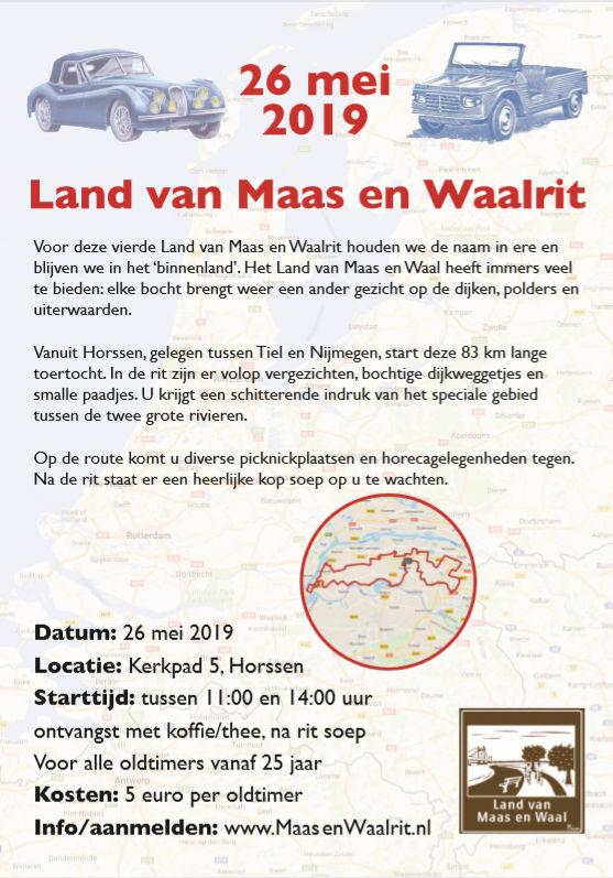 """4e """"Land van Maas en Waalrit"""" @ HORSSEN"""